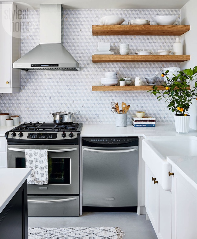 Open Kitchen Shelves Decorating Ideas: New Client Reveal: #LLProjectRuby