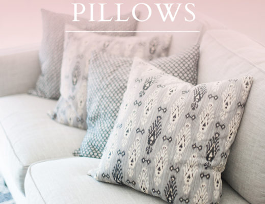 The secret to mixing and matching pillows