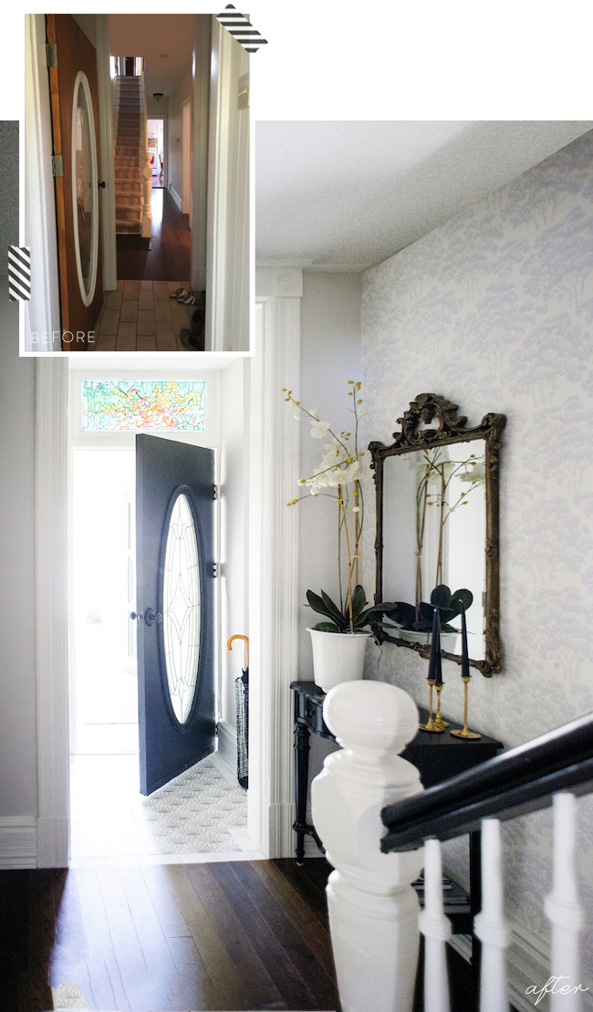 Before After - Foyer