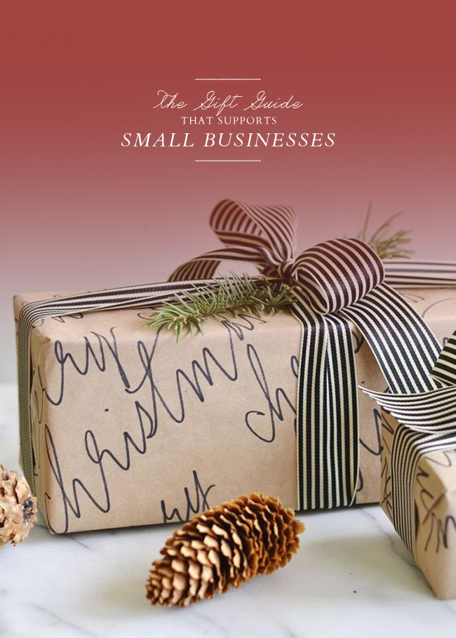 the gift guide that supports small businesses lark linen