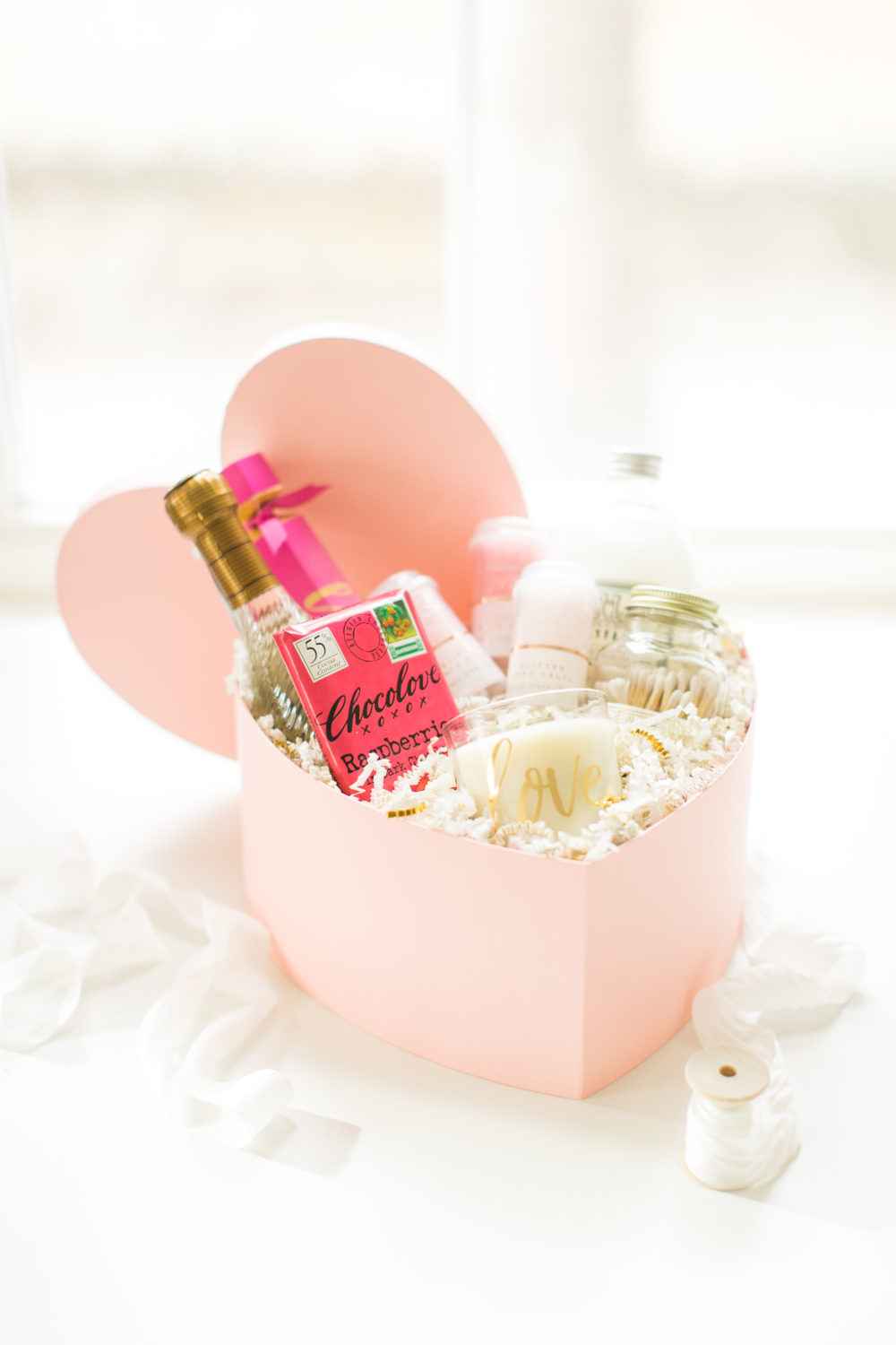 Valentine S Day 101 The Diy Bubble Bath Gift Box Lark Linen