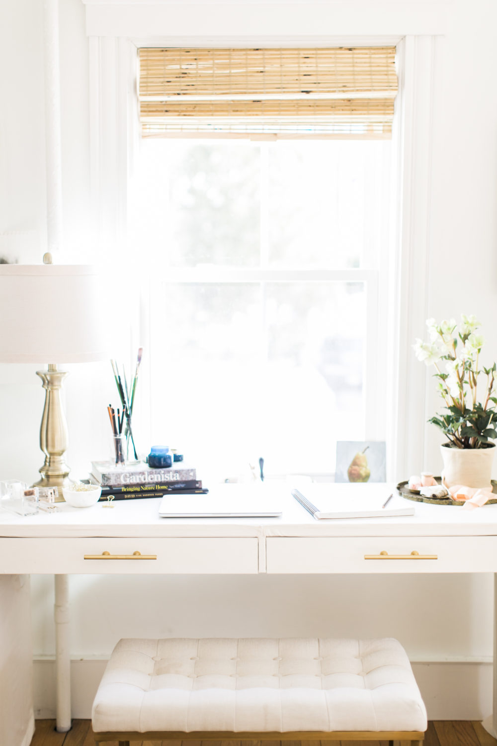 Ikea desk hack | Photo by Ruth Eileen Photography