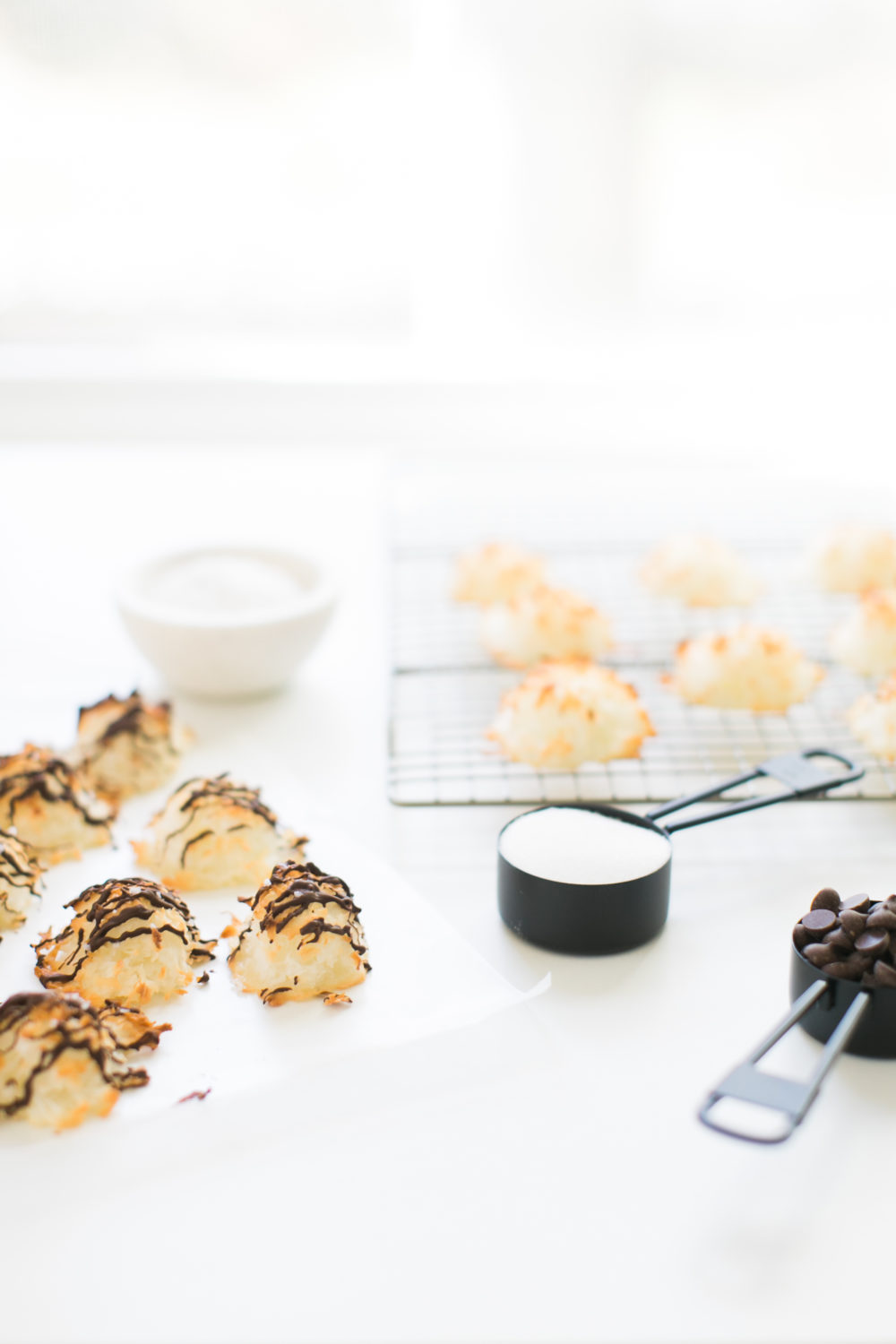 Almond Coconut Macaroons | Photo by Ruth Eileen Photography