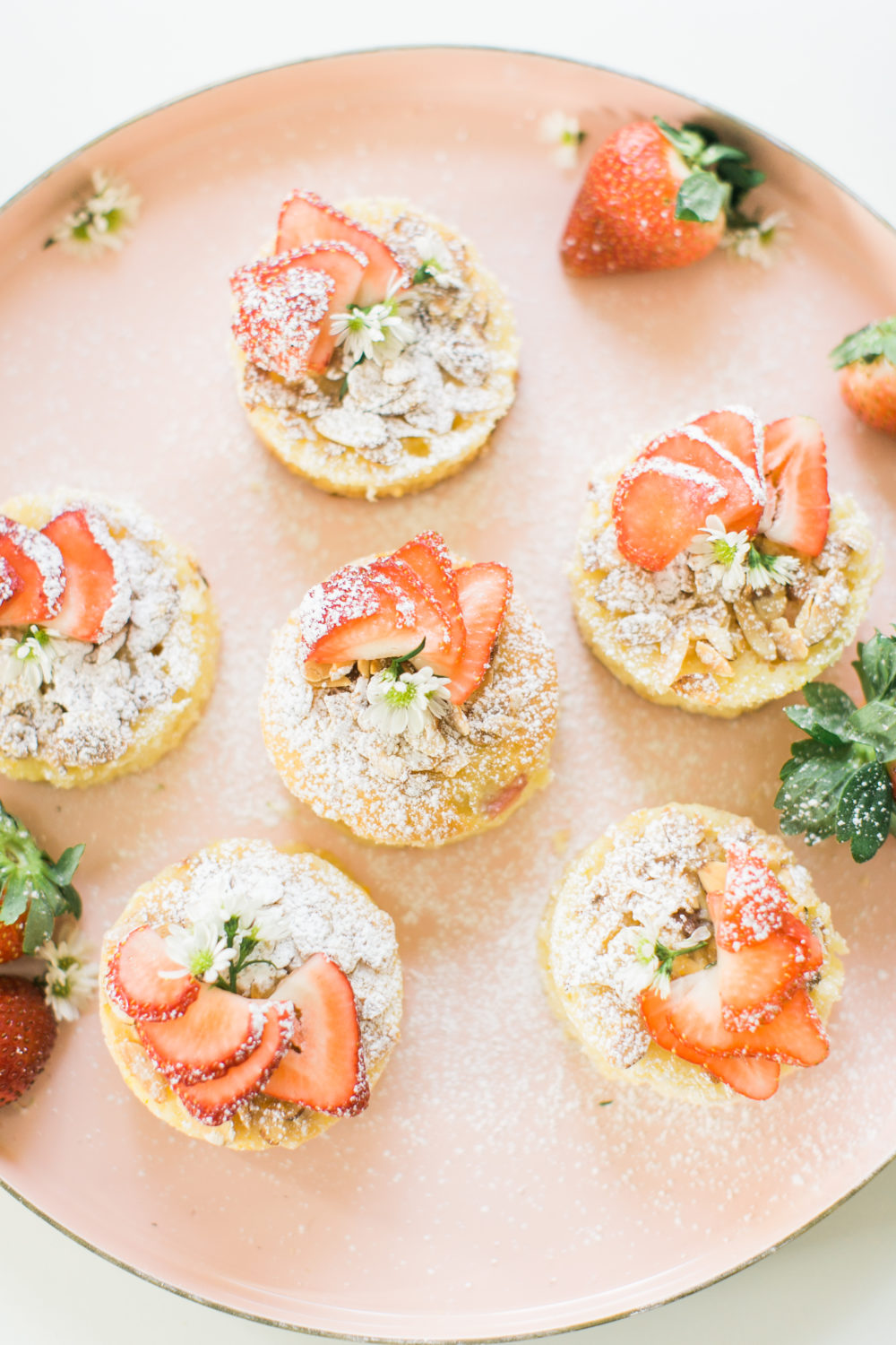 Strawberry Almond Cakelettes | Photo by Ruth Eileen Photography