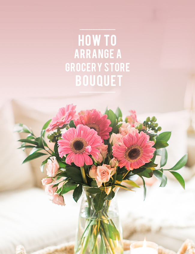 Valentine S Day 101 How To Arrange Grocery Store Flowers