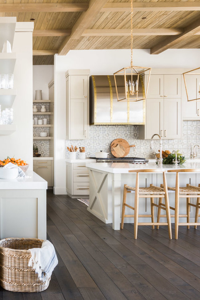 modern farmhouse kitchen ... & The Prettiest Modern Farmhouse in the Entire World (for *Real ...