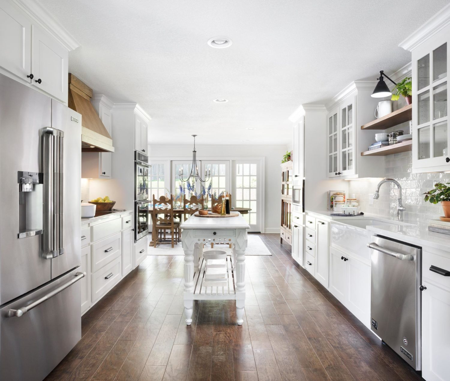 Galley Kitchen Designs Pictures Ideas Tips From Hgtv: Chip & Joanna Gaines' Mountain Home