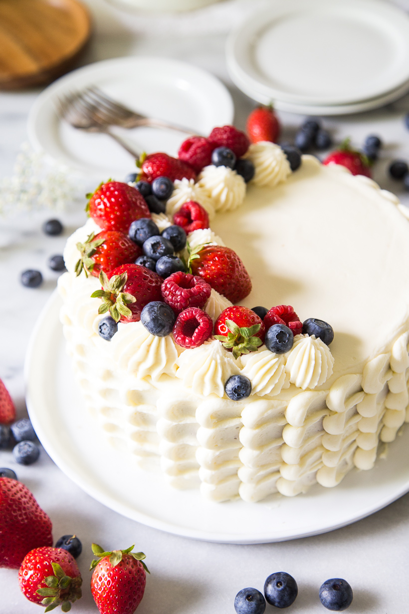 Berry Chantilly Cake Lark Linen