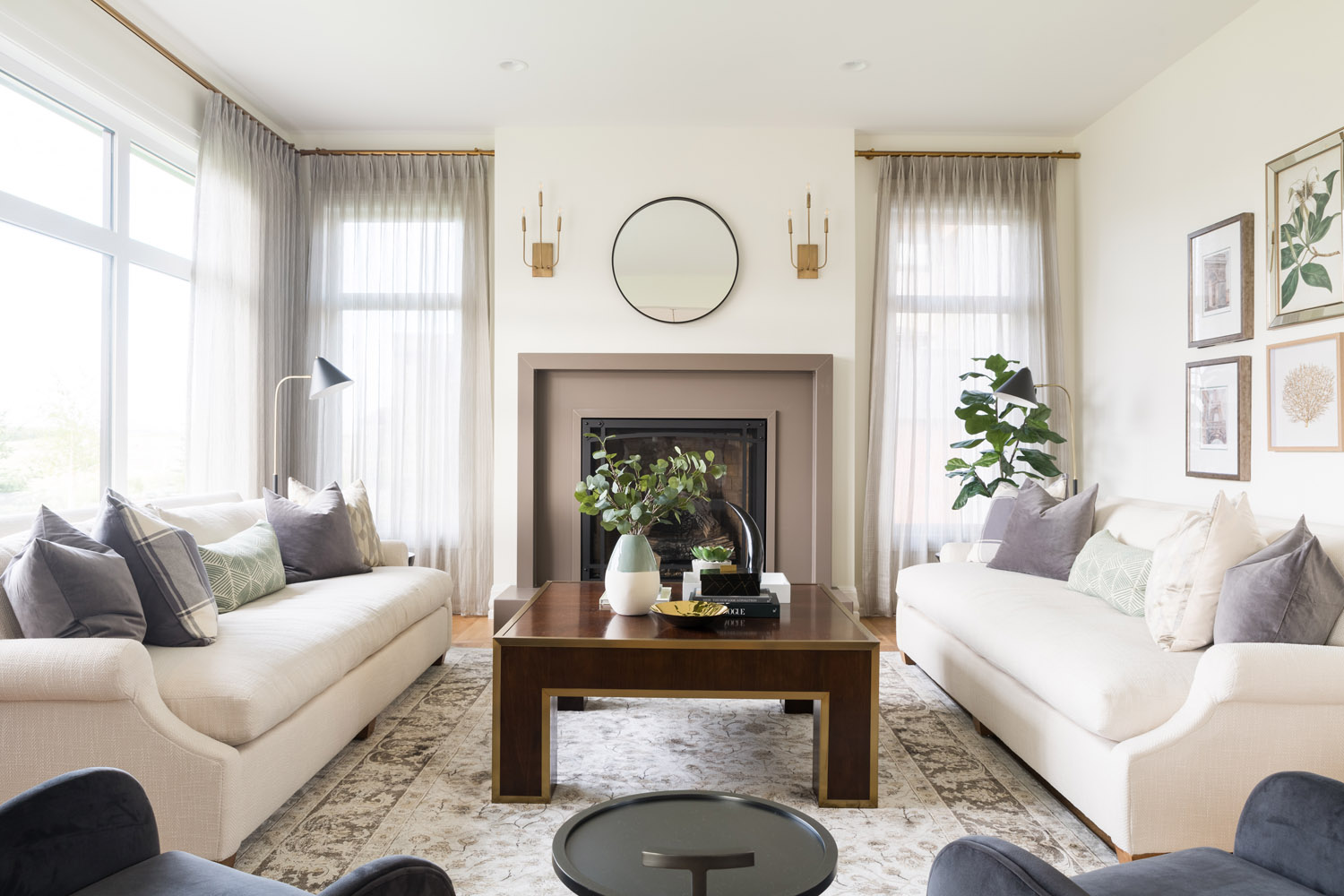 A Dreamy Modern Meets Traditional Show Home In Calgary Lark Linen