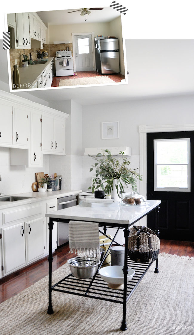 How we COMPLETELY Transformed Our Kitchen In One Weekend