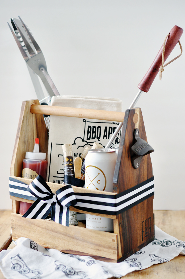 His Own BBQ Gift Basket that Inexpensive