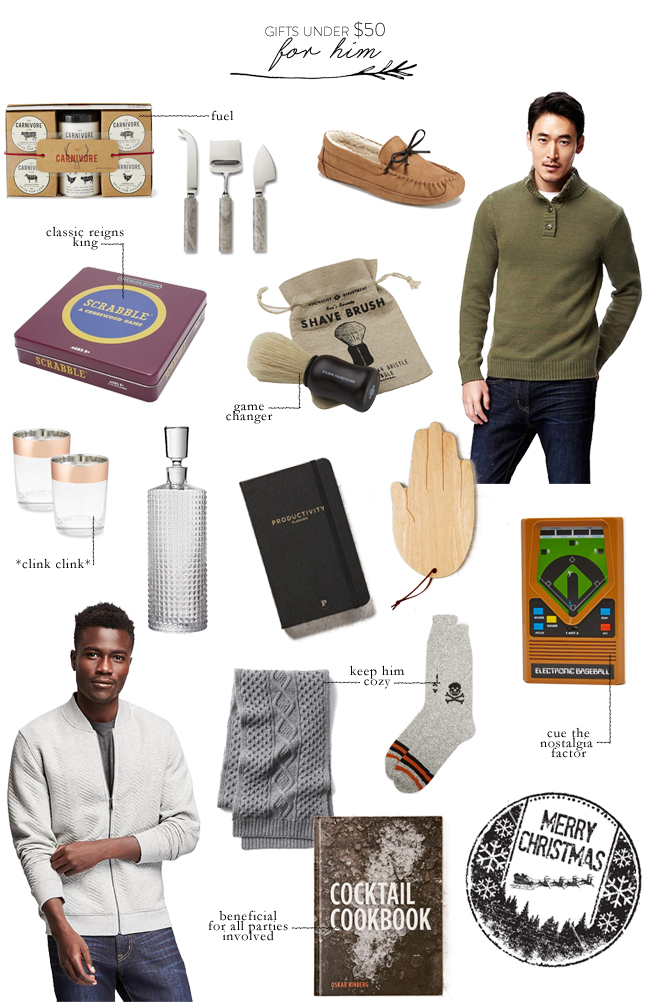 Gifts Under 50 For Him