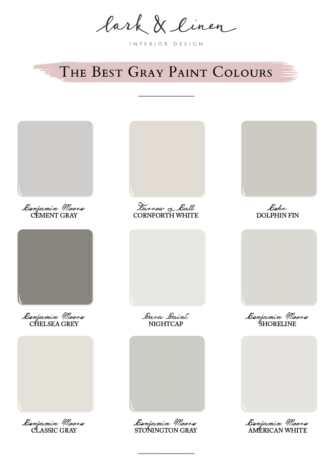 Best Paint Colours Benjamin Moore Cement Gray