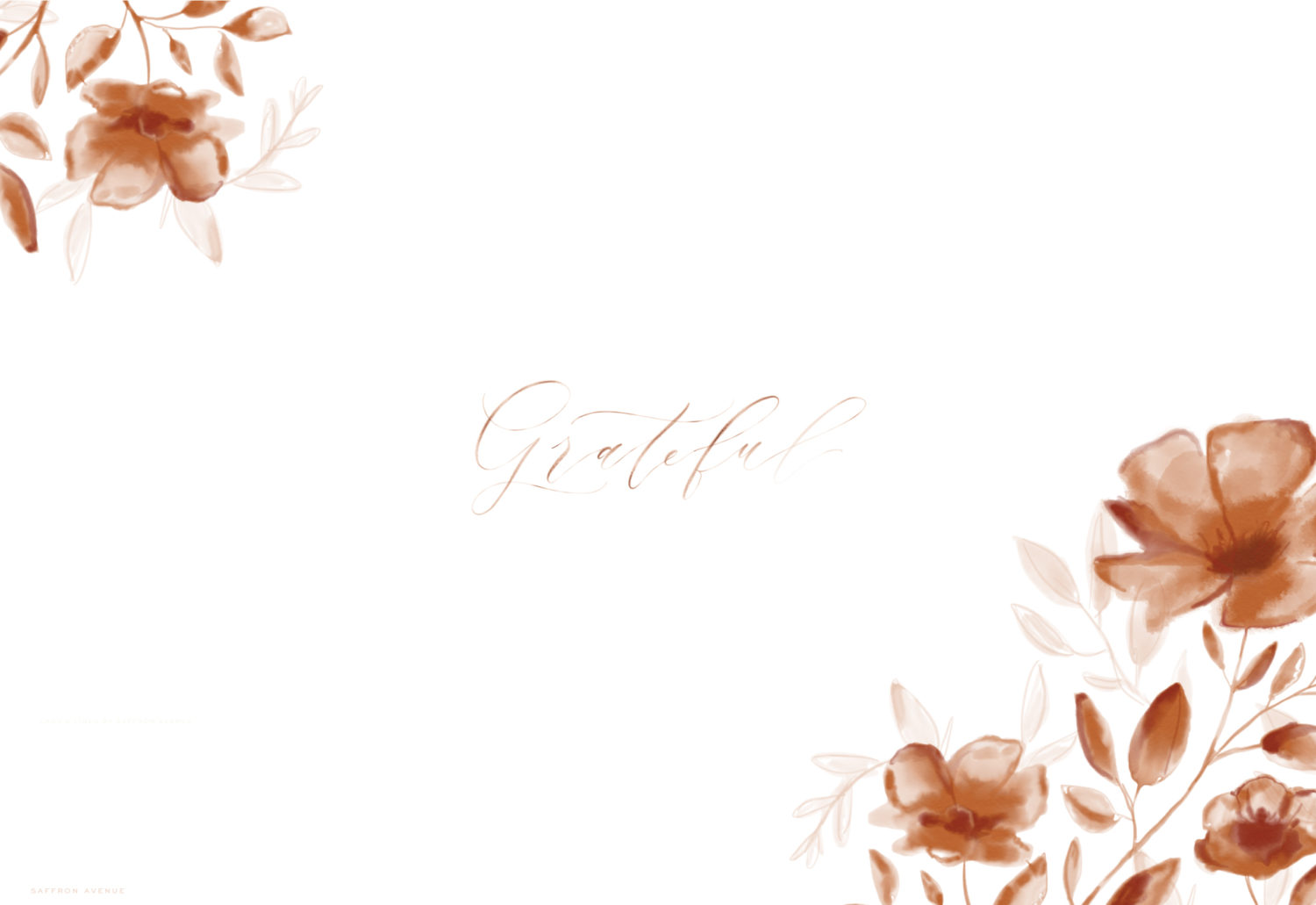 Free Fall Floral Desktop Wallpaper Lark Linen